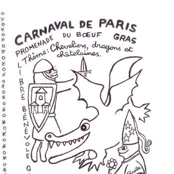 carnaval paris