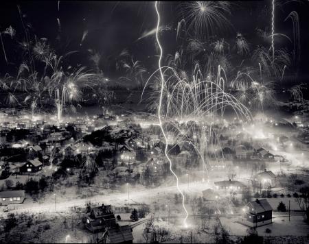 Joakim-Eskildsen-Fireworks,-de-la-serie-Nordic-SIgns,-1991