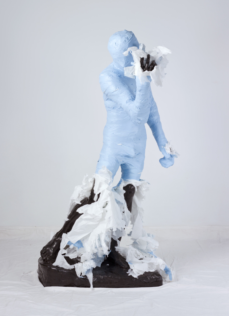 Unwrapping Rodin (Blue) 04