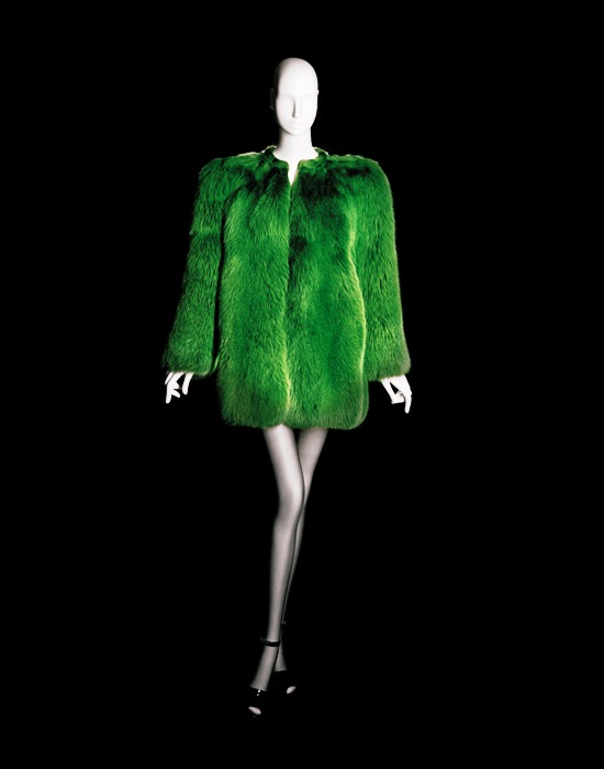YSL La collection du scandale-short evening coat