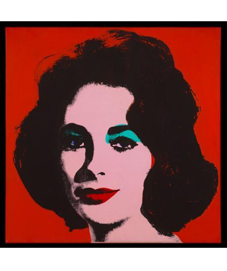 Andy Warhol, Liz #6. The San Francisco Museum of Modern Art, achat partiel ...