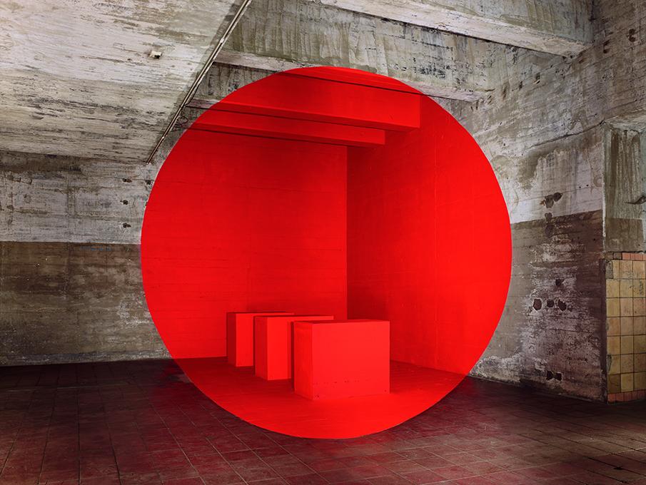Georges Rousse - Bordeaux - Galerie Catherine Putman