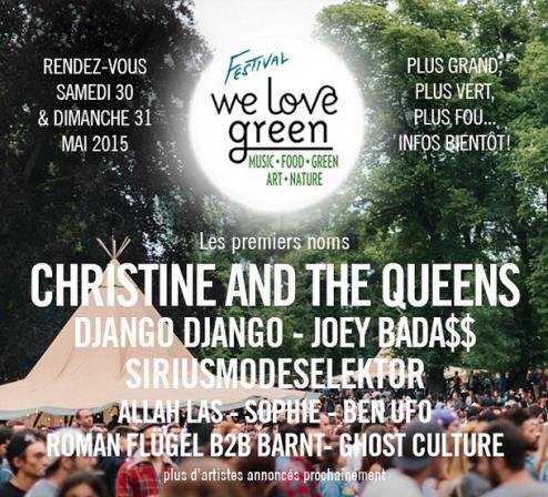Festival We Love Green 2015