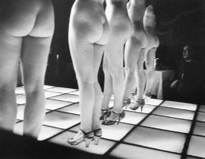 Le Sphinx, G, Paris, 1962.franck horvat