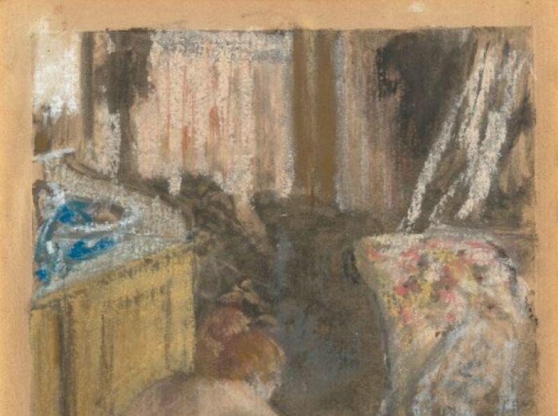 Degas_Femme nue accroupie.