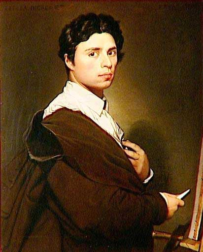 Autoportrait-Ingres