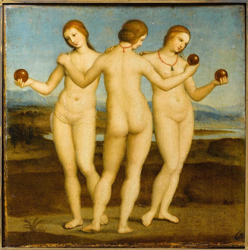 Les-Trois-Graces-Raphael