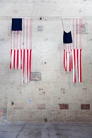 Amy O'Neill,Red-White Stripes © Leslie Artamonow
