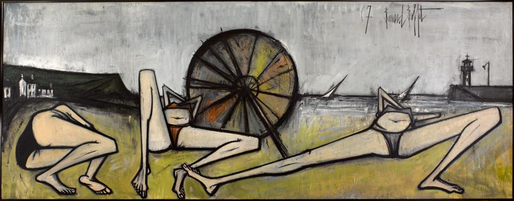 Les plages, le parasol